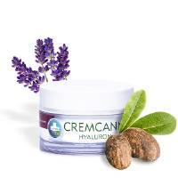 Cremcann Hyaluron Crema viso idratante naturale con olio di canapa e acido ialuronico