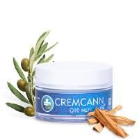 Crema Viso Uomo Antirughe Naturale: idratante e rigenerante - CremCann Q10- 50ml